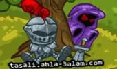 لعبة الفرسان المقنعة