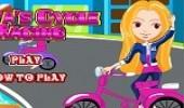 لعبة سباق دراجة البنات
