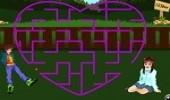 لعبة ذكاء متاهة الحب