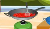 لعبة طبخ اللحم بالفلفل