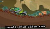 لعبة سيارات نقل الحجارة