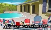 لعبة ديكور المسبح