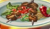 لعبة طبخ شوي اللحم