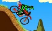 لعبة سباق دراجة المنحدرات الجبلية
