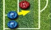 العاب رياضة كرة قدم البلورات الملونة