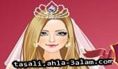 لعبة تلبيس العروس الرقيقة