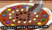 لعبة طبخ البيتزا بالشوكولاته