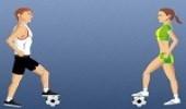 العاب رياضة كرة قدم مهارات الترقيص