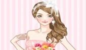 تلبيس العروسة المرحة