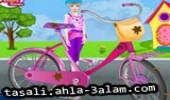 لعبة تزيين الدراجة