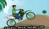 لعبة بن تن و دراجته