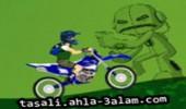 لعبة دراجة بن تن النارية
