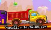 لعبة سيارات شحن