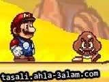 لعبة مغامرات ماريو في الصحراء