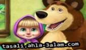 لعبة ماشا و الدب انقاذ الأصدقاء
