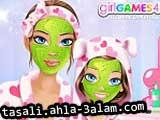 لعبة مكياج البنت و أمها