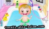 لعبة استحمام اطفال