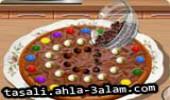 لعبة تحضير البيتزالشوكولاتة