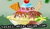 لعبة طبخ ايس كريم ماما
