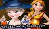 لعبة السا و آنا الساحرتان