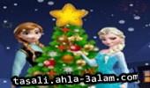 لعبة تزيين شجرة الميلاد