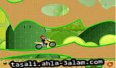 لعبة دراجة لماريو