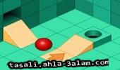 لعبة ادخال الكرة في الحفرة