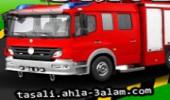 لعبة سيارة رجال الاطفاء