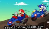 لعبة سباق ماريو وسونيك