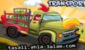 لعبة سيارة نقل البضائع