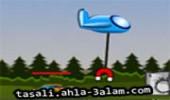 لعبة طائرة المغناطيس