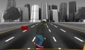 لعبة التزلج في الشارع
